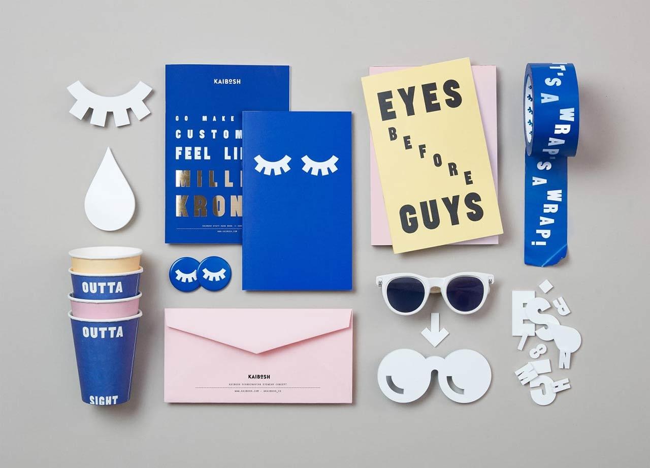 创意眼镜品牌vi设计与眼镜店logo设计